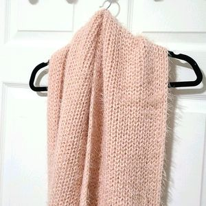 Guess blush infinity scarf with hat